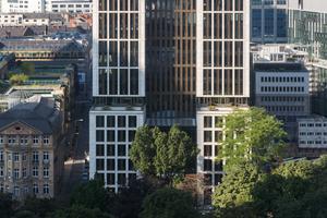 """Die T8: Als Winner in der Kategorie """"Innovative Architecture"""" mit dem Iconic Award 2018 prämiert und mit der LEED-Platin-Zertifizierung ausgezeichnet."""