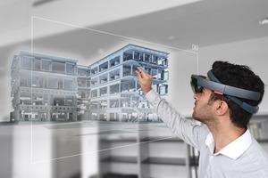 Ein BIM-Modell kann während der Planungsphase Bauherrn Entscheidungen über Materialität etc. erleichtern