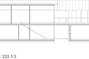 "Schnitt AA, M 1:333 <sup>1/<irfontsize style=""font-size: 4.400000pt;"">3</irfontsize></sup>"