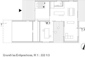 "Grundriss Erdgeschoss, M 1:333 <sup>1/<irfontsize style=""font-size: 4.400000pt;"">3</irfontsize></sup>"