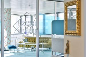 Ein Bereich des detecon office in Frankfurt