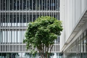 Die Auseinandersetzung mit natürlichem und künstlichem Licht spielte im Projekt eine große Rolle. So werden durch die gewählte Gebäudeform, Kubus mit Einschnitten, die Büros von zwei Seiten belichtet. Zudem entwickelten die Architekten zusammen mit dem Lichtplanerteam von Arup eigens für das Projekt eine Leuchtenfamilie
