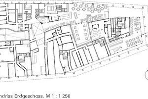 Erdgeschoss (Läden / Gastronomie), M 1:1250