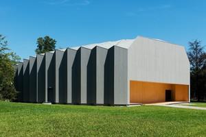 Abb. 3: Théatre de Vidy, Lausanne: Hallenkonstruktion aus Holzwerkstoffen  (Architekten: Yves Weinand Architekten, Lausanne)