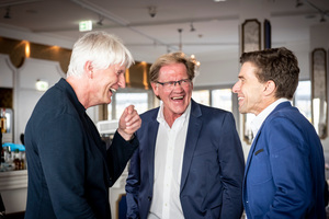 Christoph Ingenhoven, Burkhard Fröhlich und Andreas Fuchs