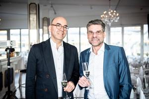 Luis Ocanto und Armin Rogall