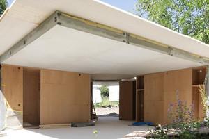 Bei der vorfabrizierten Rippendecke wurden 70 Prozent Beton eingespart