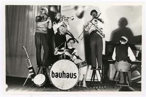 Mitglieder der Bauhauskapelle