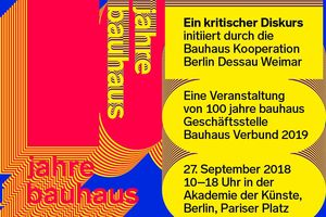 Bauhaus Kooperation Berlin Dessau Weimar