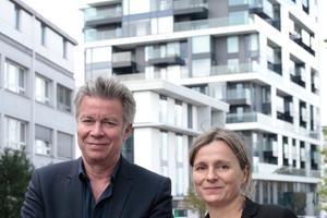 Florian Schlüter und Claudia Meixner
