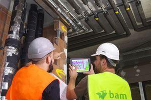 Tauchen auf der Baustelle Fragen auf, kann man sie über den BIM-Projektraum direkt am 3D-Modell klären