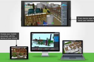 Mit BIM-Viewern lassen sich BIM-Modelle plattformunabhängig anzeigen, ohne dass der Anwender die Originalsoftware besitzen muss