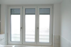 Bild1: Dreiflügeliges Badfenster mit vergleichsweise hohem Rahmenanteil