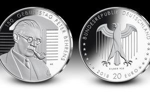 Peter Behrens zum 150sten Geburtstag: eine Münze