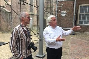 Live-Werkbericht mit DBZ Heftpate Mick Eekhout im Museum Prinsenhof in Delft
