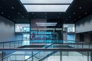 Auf drei Ebenen bietet das Futurium 3200 m² Ausstellungsfläche