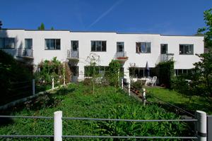 Wohnbauten Pieter Oud, Gartenseite