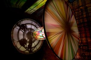 Installation:Chronotop in St. Joseph und Madarus Kirche Künstler: Ingo Wendt