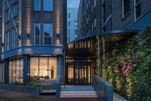 Eingangsbereich Kimpton DeWitt: Eingangsbereich des Kimpton DeWitt Hotels in Amsterdam<br />