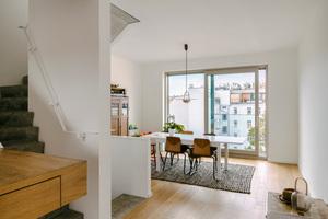 Die einfache Rohbaustruktur ließ viel Gestaltungsspielraum für die einzelnen Bauherrn und bietet auch später noch die Möglichkeit der individuellen Veränderung
