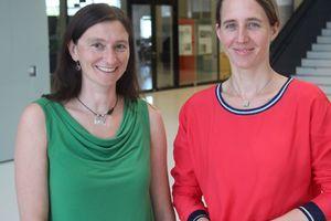 Prof. Dr.-Ing. Annette Eicker und Prof. Dr. Monika Grubbauer