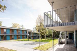 Im Jahr 2013 entschied sich die Stadt Essen für den Neubau von 100 Übergangswohnungen, die innerhalb eines engen Kosten- und Terminrahmens bis 2018 entstanden