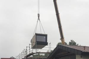 Module auf der Baustelle<br />