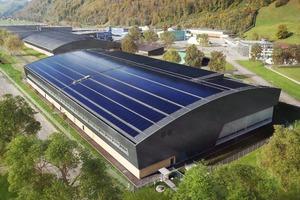 Pilatus Flugzeugwerke AG in Stans/CH − Scheitlin Syfrig Architekten AG, Luzern/CH