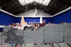 Giardini, Zentraler Pavillon: Zu Besuch in der Peter Zumthor Modelllandschaft