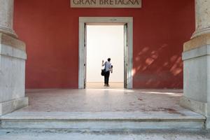 Giardini, Britischer Pavillon: Thema der Leere ... Brexitahnungen?!?