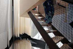 Giardini, Österreichischer Pavillon: Spiegelboden drinnen,