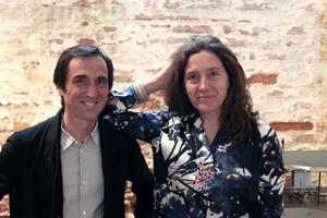 Ricardo Flores und Eva Prats, Barcelona