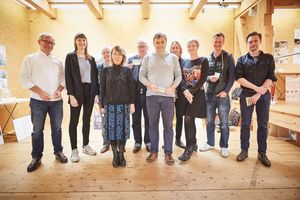Die Jury des Small House of Universal Design Awards.