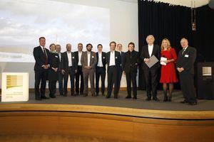 Verleihung des Deutschen Ingenieurbaupreises 2018 an das Ingenieurbüro Werner Sobek Stuttgart AG für den ThyssenKrupp Testturm in Rottweil