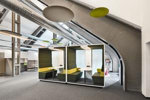 Meeting Pod als Raum-in-Raum-Lösung für kleine Gruppen