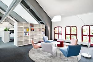 Lounge-Bereich zum entspannten Zusammenkommen