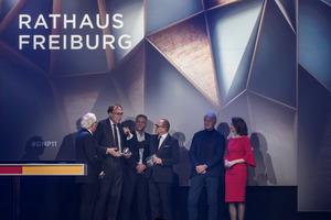 """Preisverleihung des DGNB Preises """"Nachhaltiges Bauen"""" 2019"""
