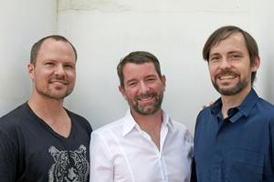 """LAVA, v.l.n.r.: Chris Bosse, Alexander Rieck und Tobias Wallissergründeten 2007 LAVA (Laboratory for Visonary Architecture) als Netzwerk von Büros in Sydney, Stuttgart und Berlin<a href=""""http://www.l-a-v-a.net"""" target=""""_blank"""">www.l-a-v-a.net</a>"""
