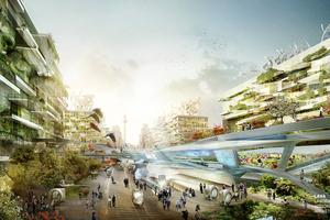 Morgenstadt: Vision Veränderungen in Städten: dezentrale Energiegewinnung, neue Mobilität, Essen und Grün in der Stadt