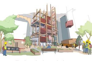 Mit dem schnellen Bau von Hochhäusern aus Holz in Modulbauweise reagiert Sidewalk Toronto auf den Druck im Wohnungsmarkt in Toronto
