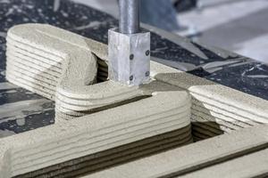 Das Verfahren ist so genau, dass sehr feine Betonstrukturen möglich sind