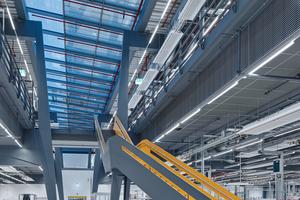 Planern und Bauherr war es wichtig, dass auch durch die Architektur die Firmenwerte Offenheit, Nachhaltigkeit und Freude transportiert werden<br />&nbsp;<br />