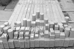 05 Typische Prüfkörper im Betonlabor
