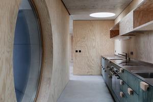 Beton haben die Architekten akzentuiert sichtbar gemacht und gekonnt als tragendes Element eingesetzt