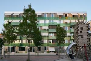 Die Stadterle entwarfen die Architekten als Holzkonstruktion. Aus Budgetgründen wandelten die Architekten das Gebäude in einen Holz-Beton-Hybrid