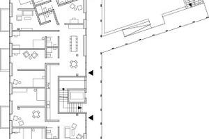 Grundriss Dachgeschoss, M 1:600