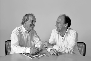 """Meili & Peter Architekten AG v.l.: Marcel Meili, Markus Peter  <a href=""""http://www.meilipeter.ch"""" target=""""_blank"""">www.meilipeter.ch</a>"""