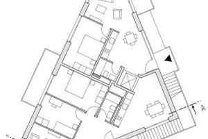 Grundriss 2. Obergeschoss, M 1:333,33