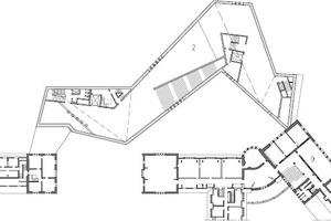 2. Obergeschoss, M 1:1500