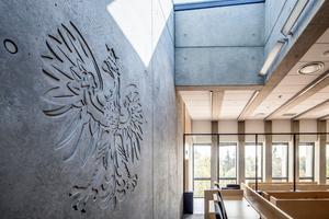 Gerichtsgebäude in der polnischen Stadt Siedlce